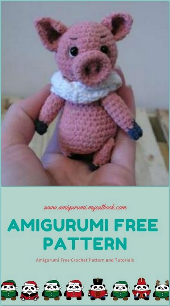 Adorable Crochet Along Pig [FREE Pattern + Video Tutorial] | 1024x569