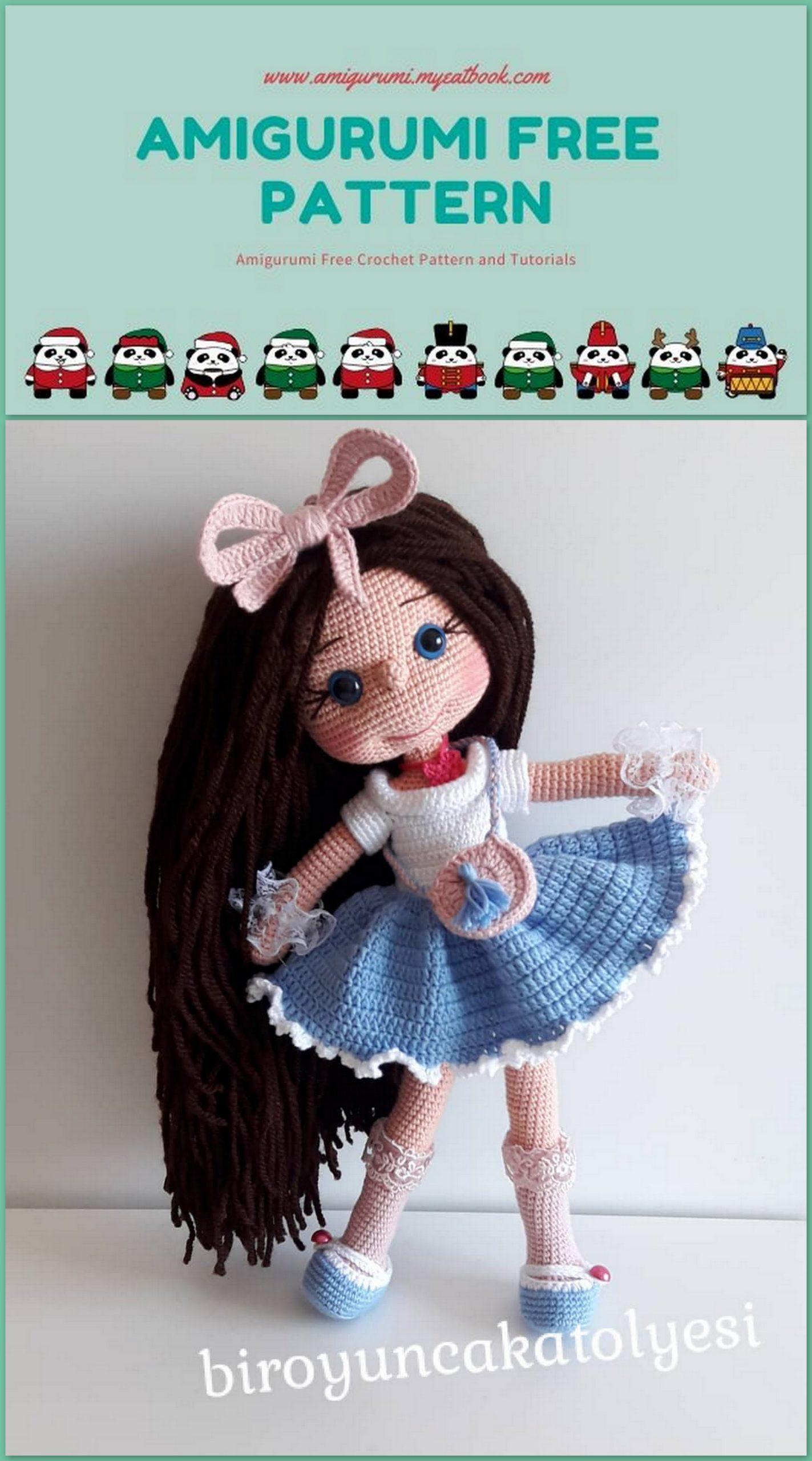Baby amigurumi & lovey pattern set – Amigurumi Designs by Dani   2560x1423