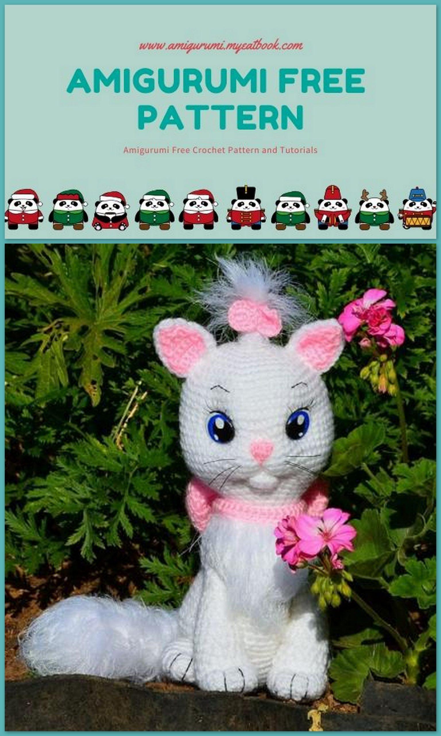 Crochet Cat Amigurumi Free Pattern – Free Amigurumi Patterns | 2560x1536