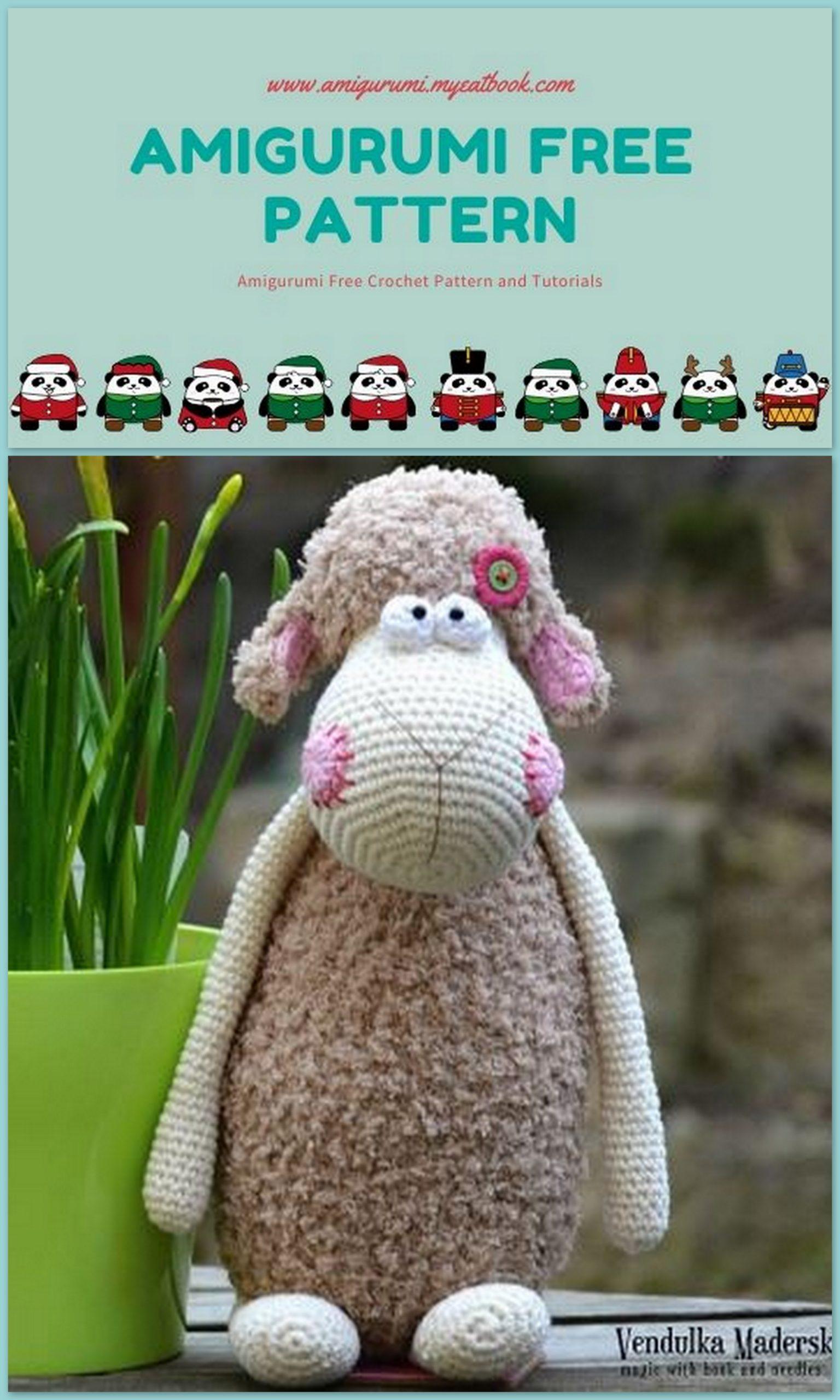 Lamb Crochet Patterns -Amigurumi Tips - A More Crafty Life | 2560x1536