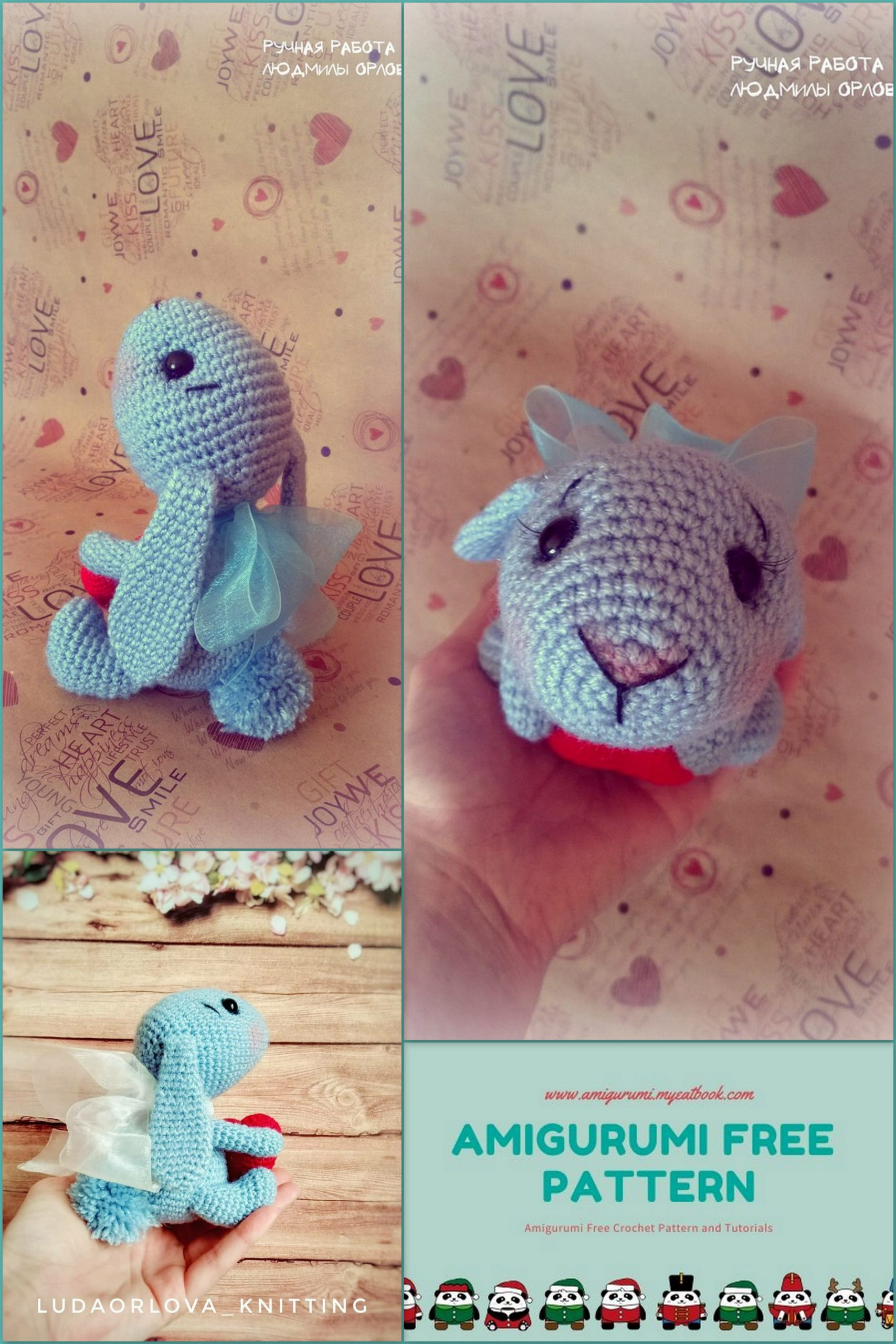 Little Muggles | Knit amigurumi with Free Pattern! | 2560x1707