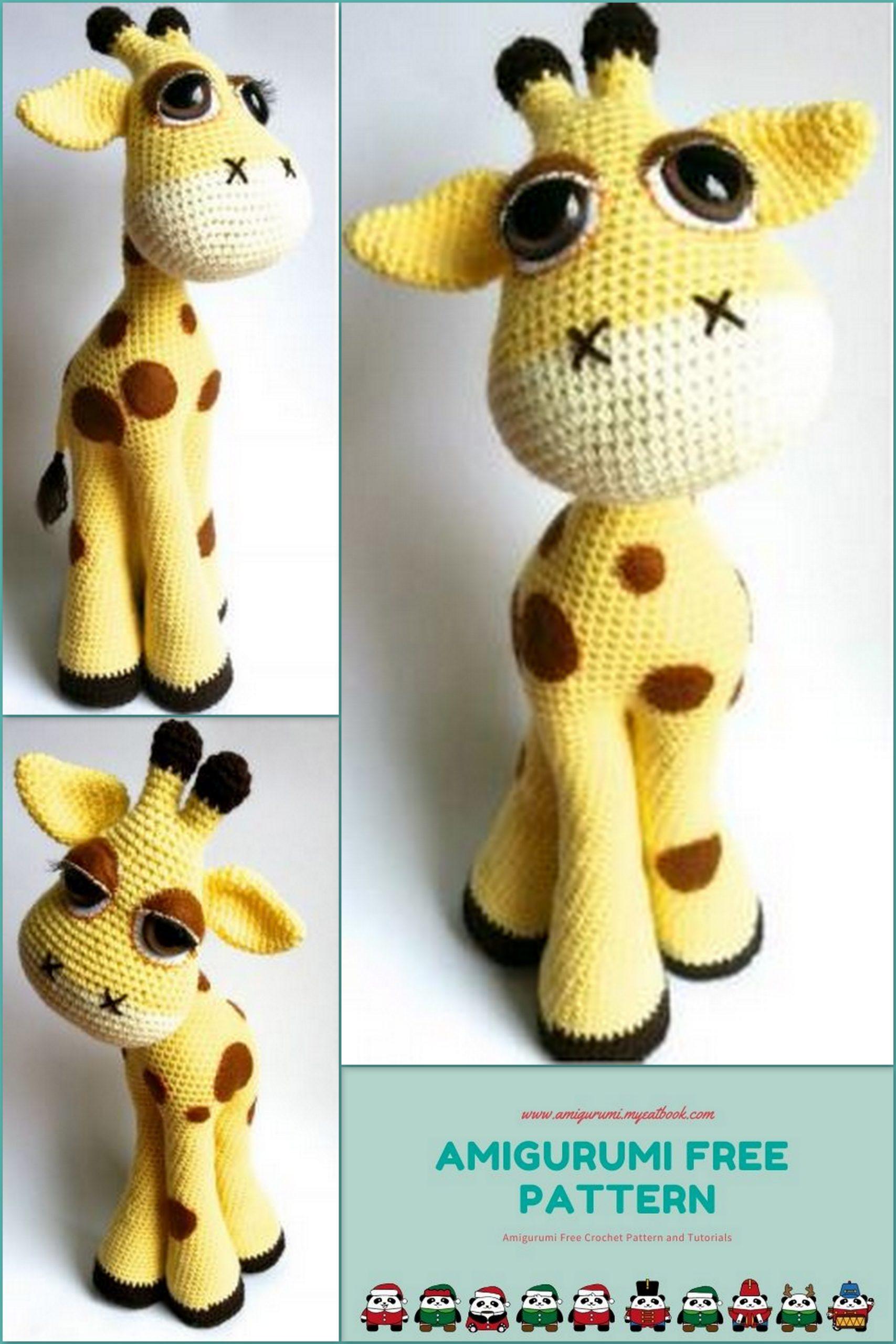 Giraffe Crochet Patterns -Amigurumi Tips - A More Crafty Life | 2560x1707