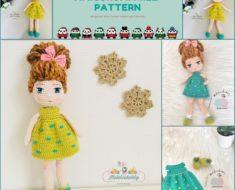 Amigurumi Mina Doll Free Crochet Pattern