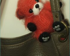 Amigurumi Fox With Black Paws Free Pattern