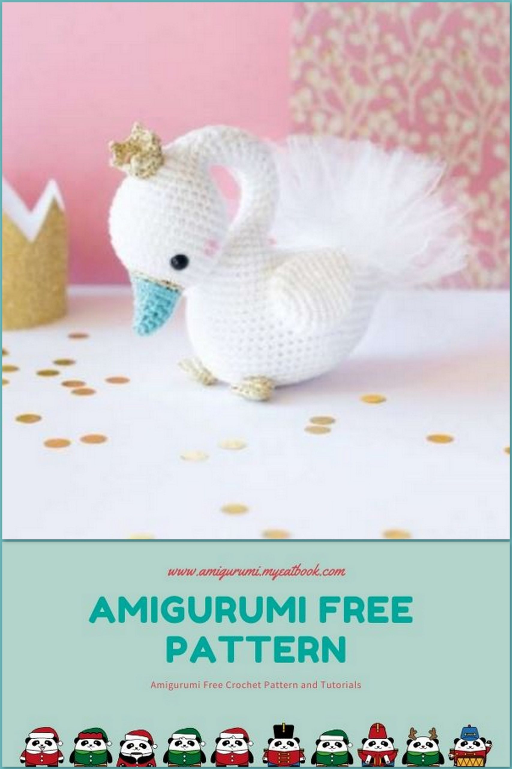 6 Free Amigurumi Duck Crochet Patterns | 2560x1707
