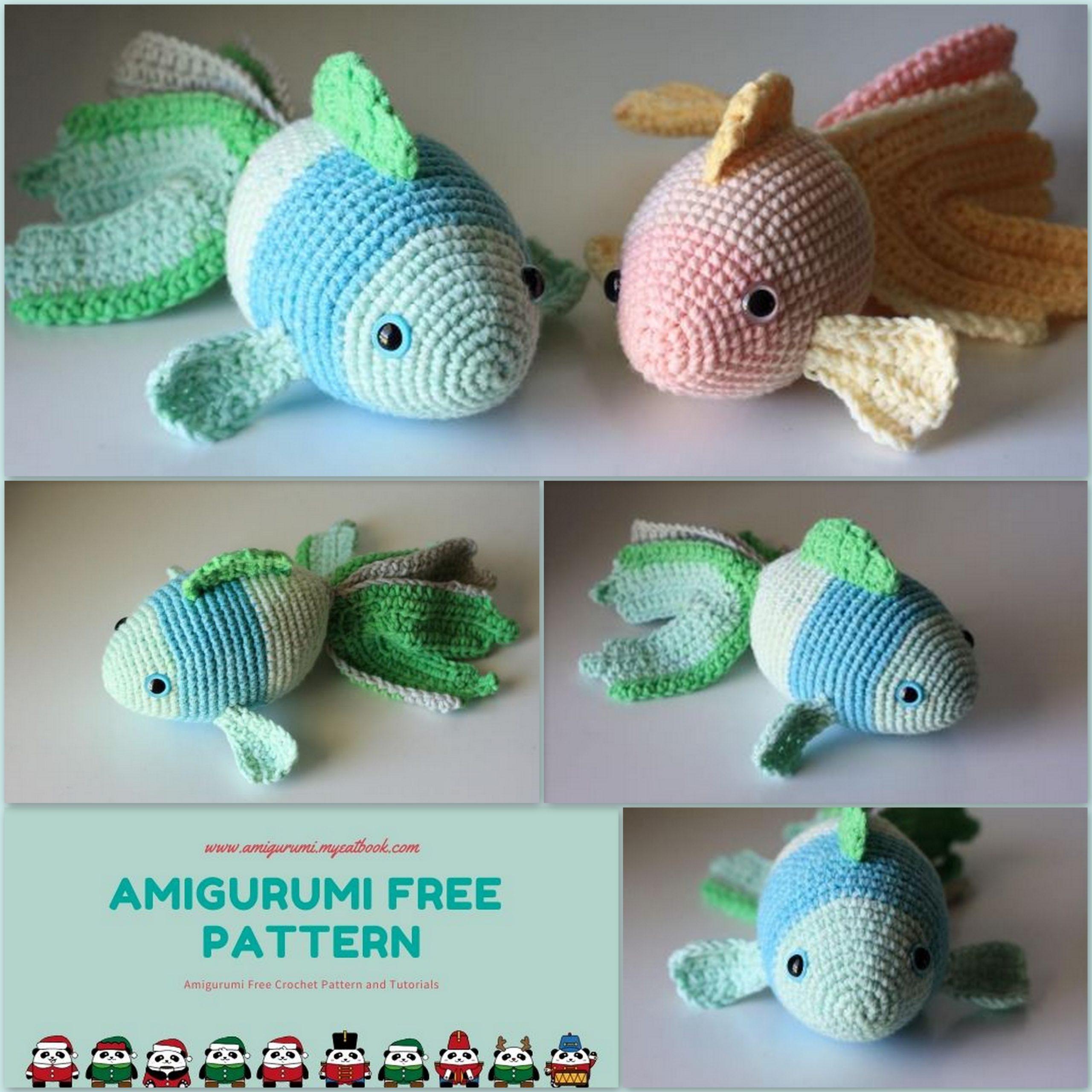 crochet Finn the Fish free pattern : crochet Finn the Fish free ... | 2560x2560