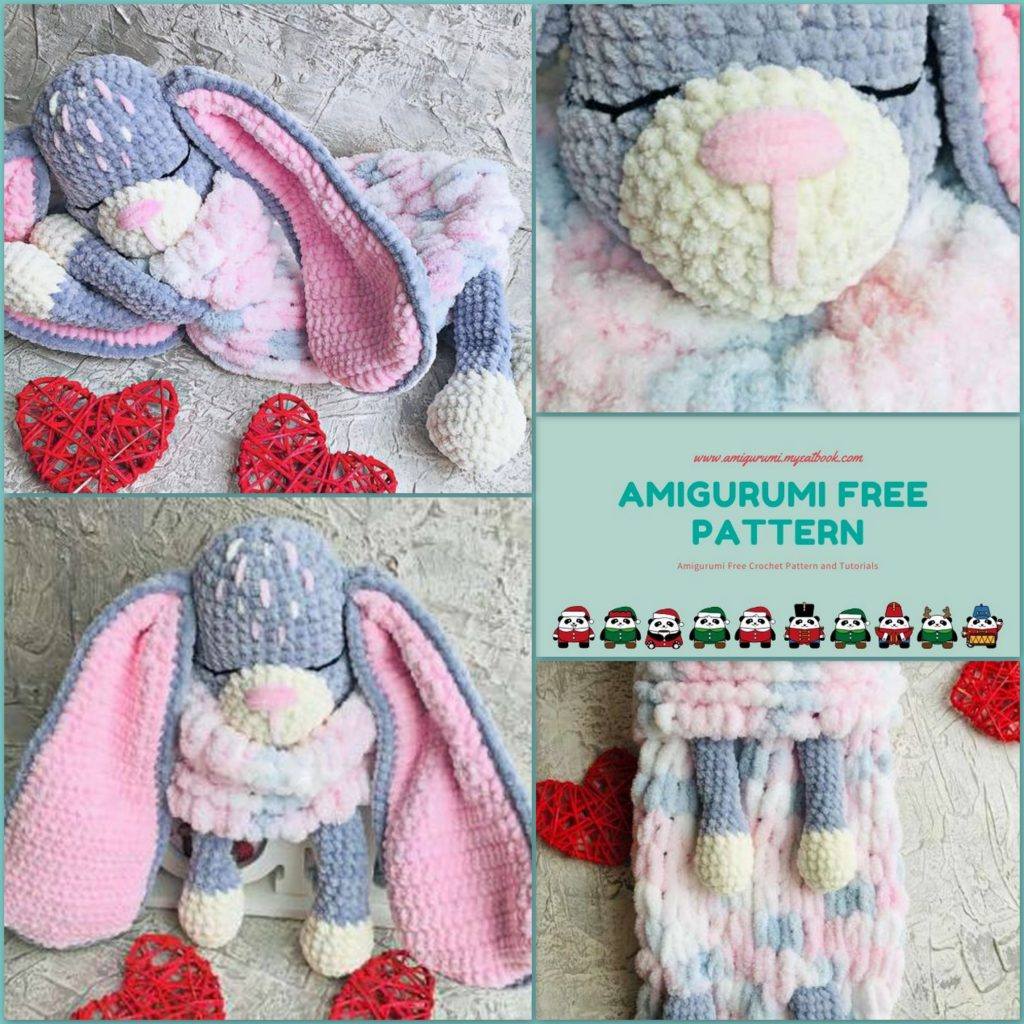 Bunny Rabbit Amigurumi Pattern (Crochet Pattern Books) (English ... | 1024x1024