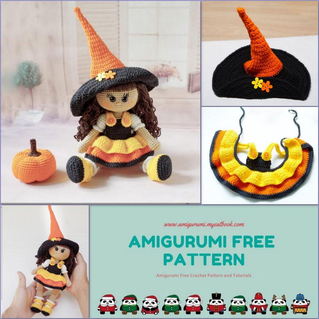 Halloween amigurumi Zombie PATTERN Halloween spooky doll | Etsy | 1024x1024