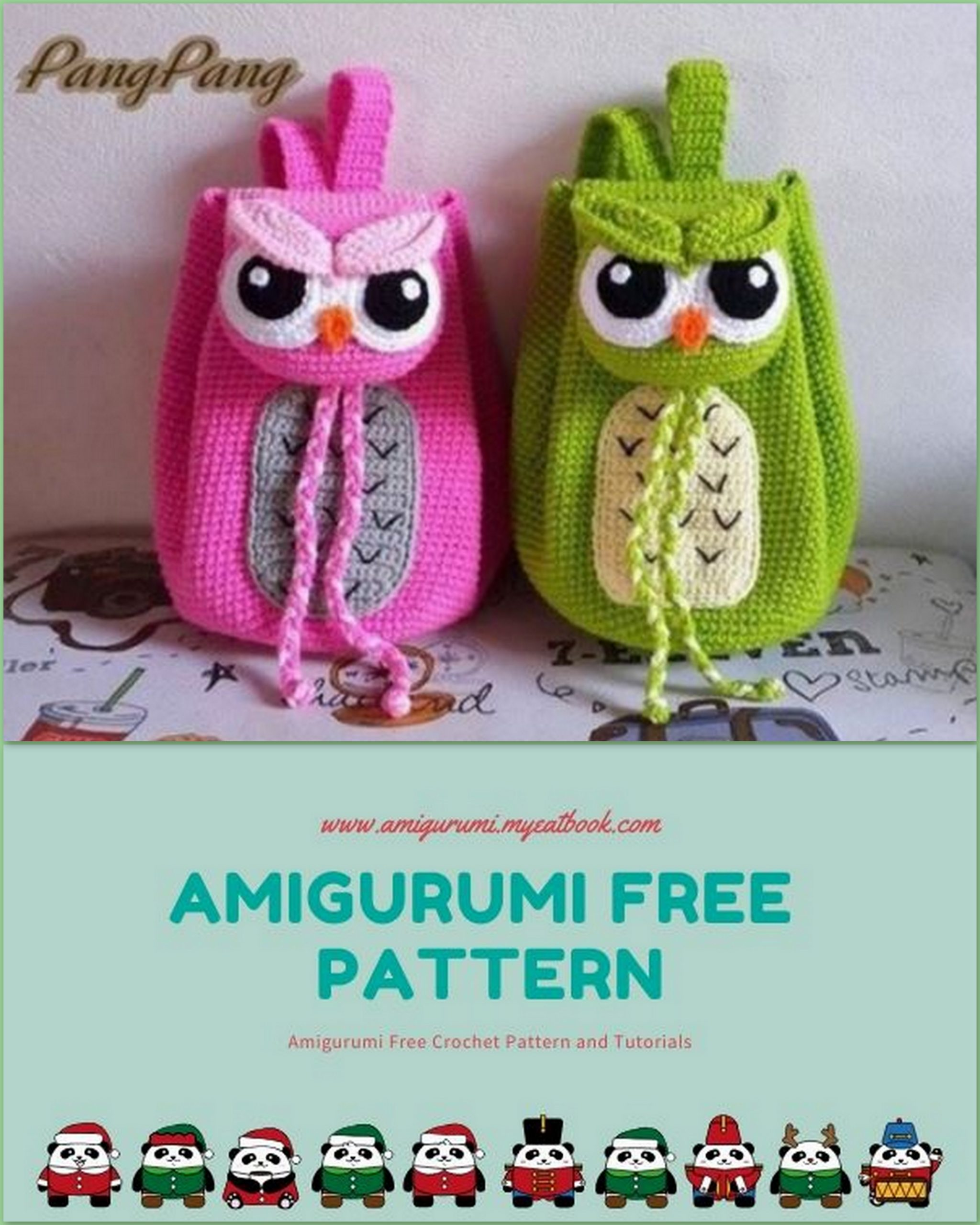 Koko the Owl Crochet pattern by Megan Barclay | Knitting Patterns ... | 2560x2048