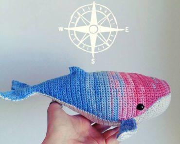 destiny-crochet-pattern-title-image | Crochet whale, Crochet ... | 297x370