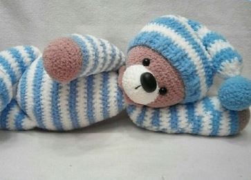 Bear Amigurumi - Boco Bear | Free Crochet Pattern - Craft Passion | 260x363