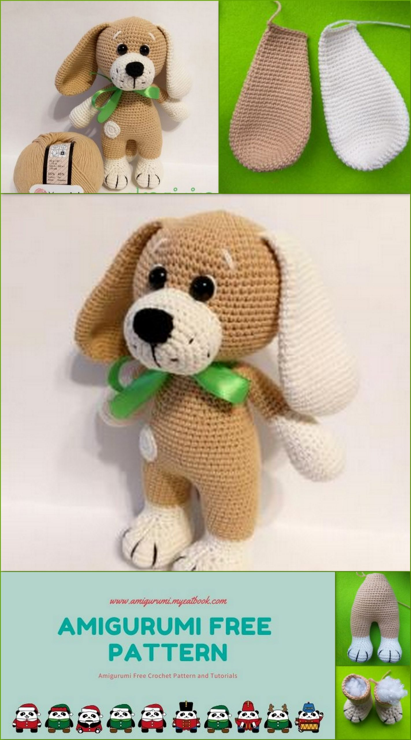 Dog Free Crochet Patterns – Krazy Kabbage | 2560x1423