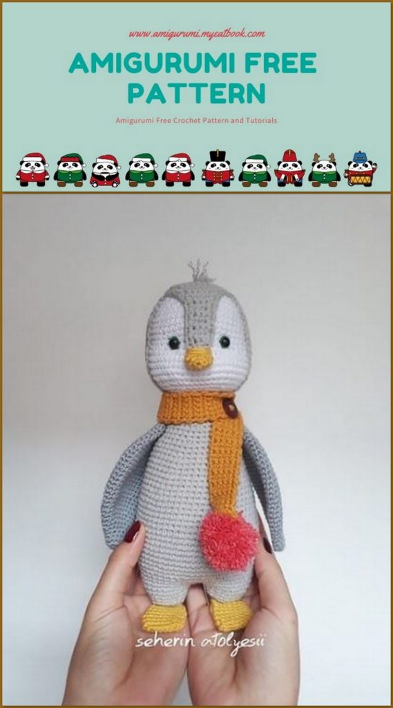 Baby Knitting Patterns Crochet Baby Penguin Amigurumi – Free ... | 1024x569