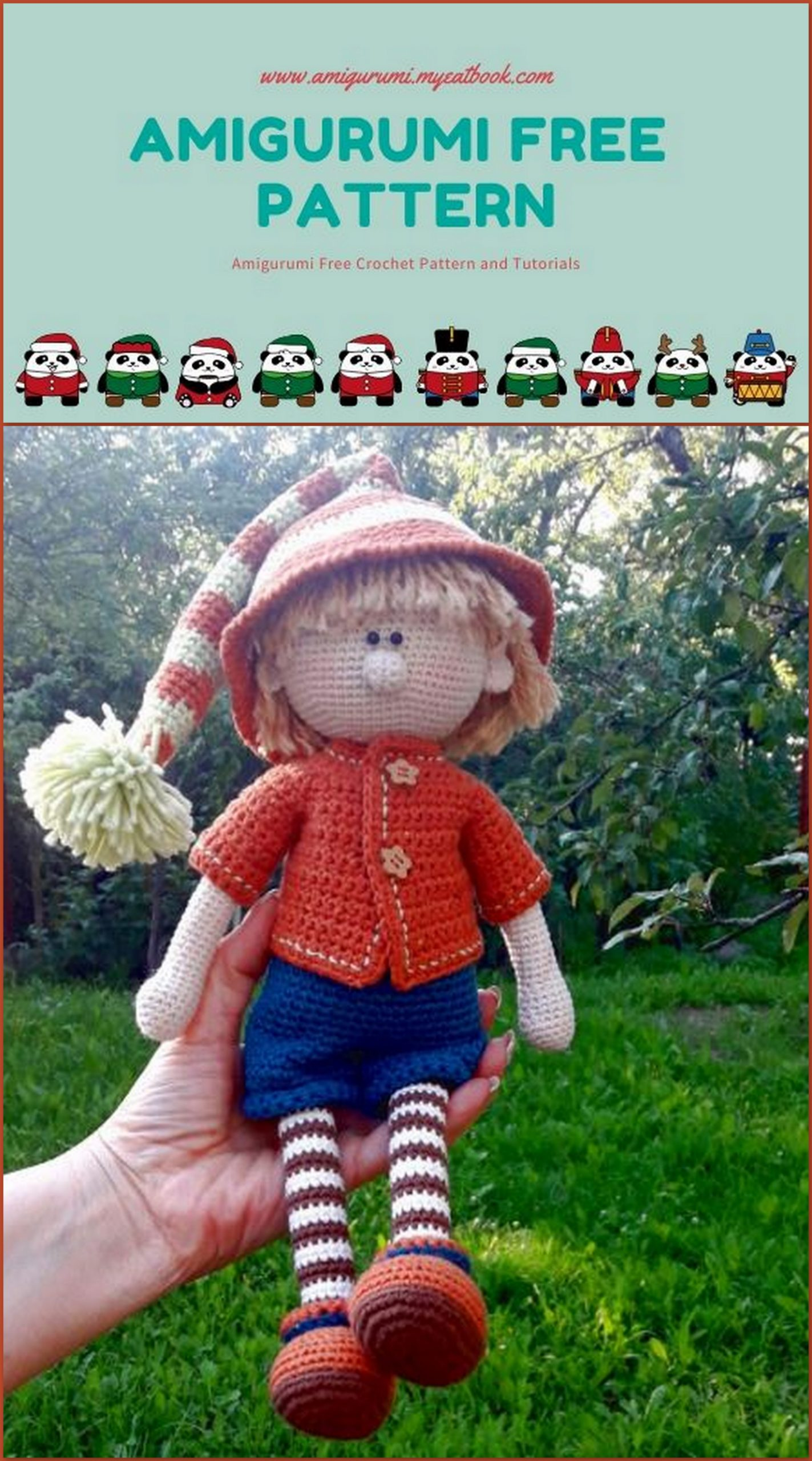 Doll Clothes - Free Crochet Pattern · The Magic Loop | 2560x1423