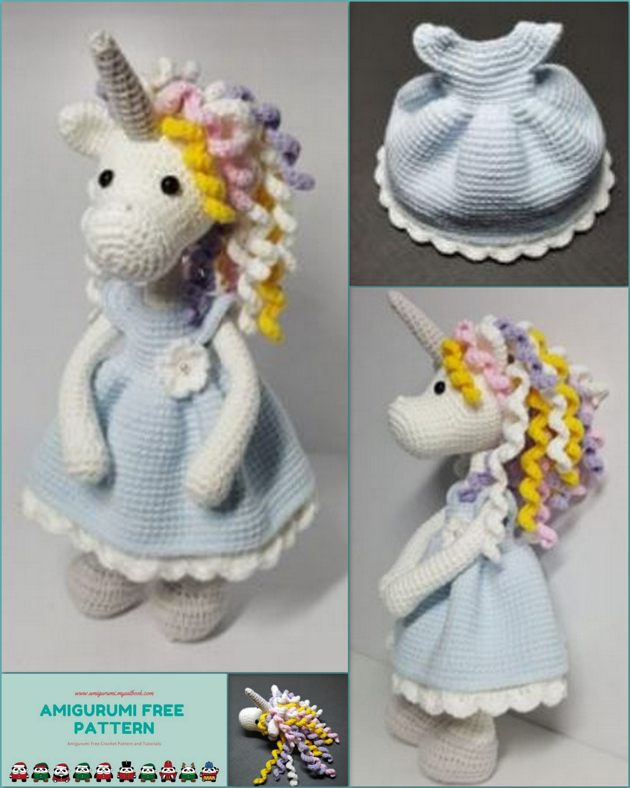 Free Unicorn Crochet Patterns - The Best Collection Ever ...   2560x2048